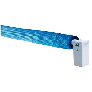 Produits mat riels piscines enrouleurs motorises abriblue for Enrouleur motorise pour bache piscine