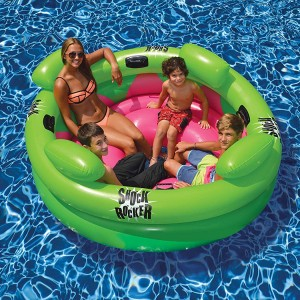 Produits Matériels Piscines - Shock Rocker gonflable 4 places---DESTOCKAGE---