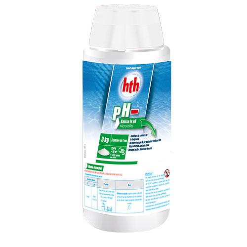 hth pH moins microbilles