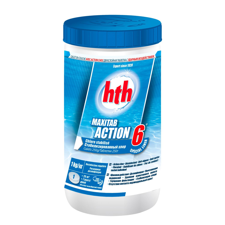 hth maxitab action 6 spécial liner