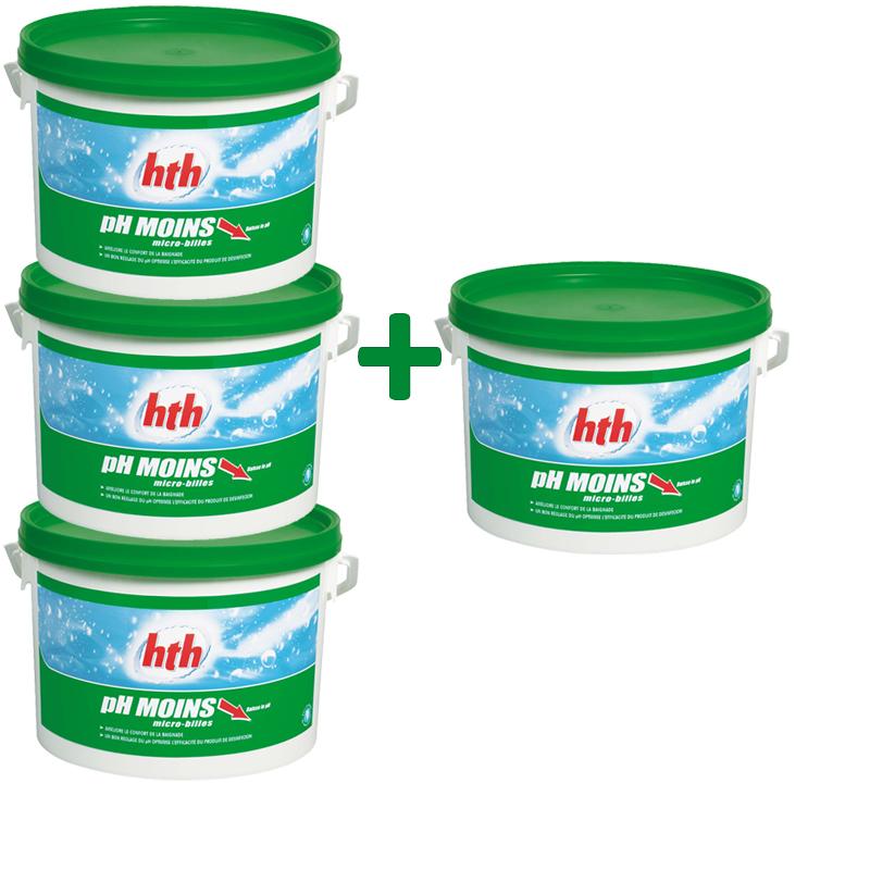 hth pH moins micro-billes 5KG lot 4