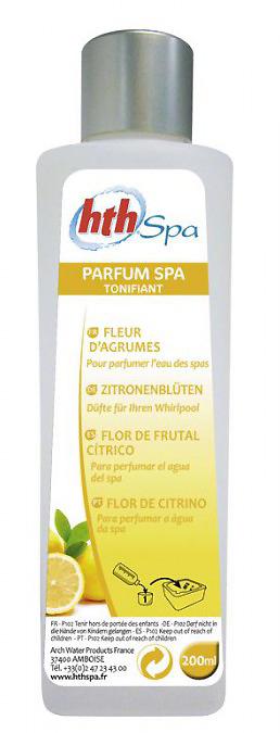 hth spa parfum fleur d'agrumes