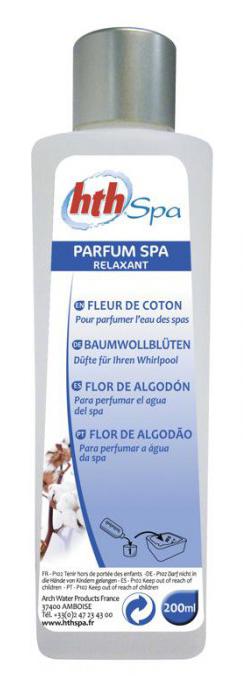 hth spa parfum fleur de coton