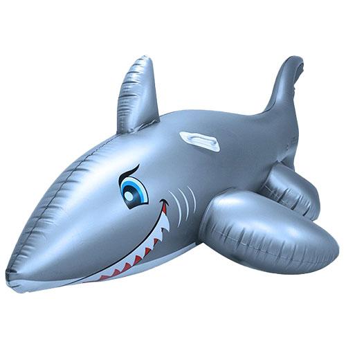 bouée gonflable amusante requin