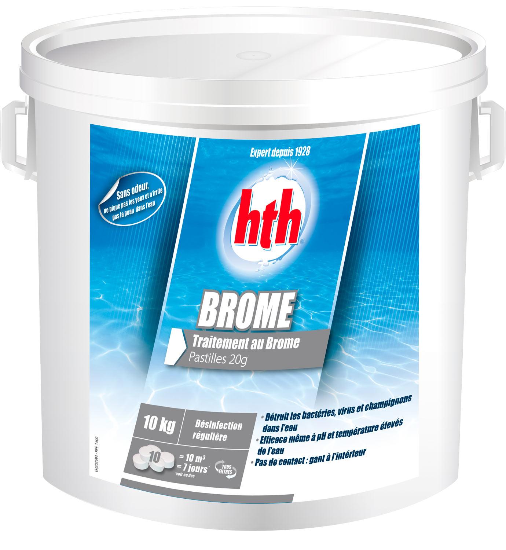 hth Brome Pastilles 20g - 10 kilos