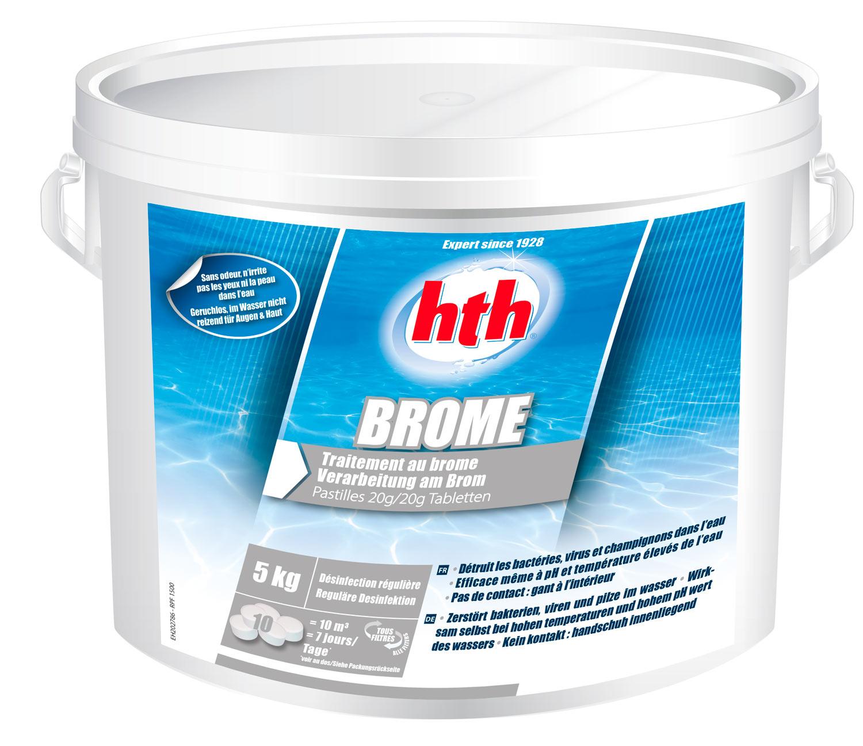 hth Brome Pastilles 20g - 5 kilos