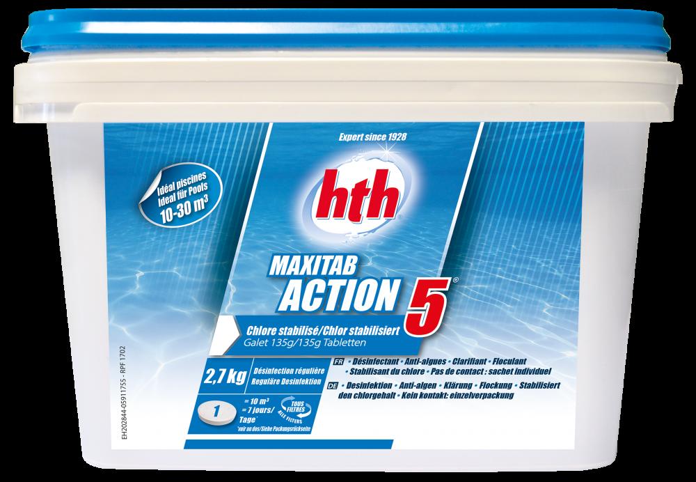 hth maxitab action 5 135g