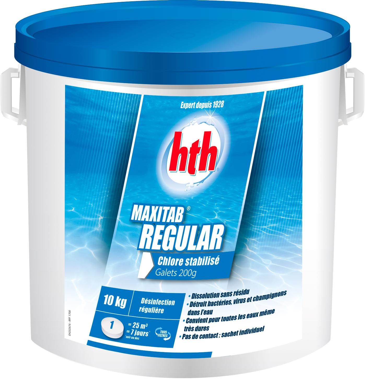 hth maxitab 200g regular 10kg