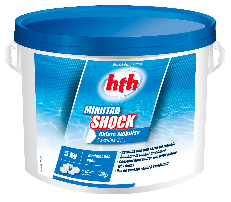 hth minitab shock-chloration piscine familiale